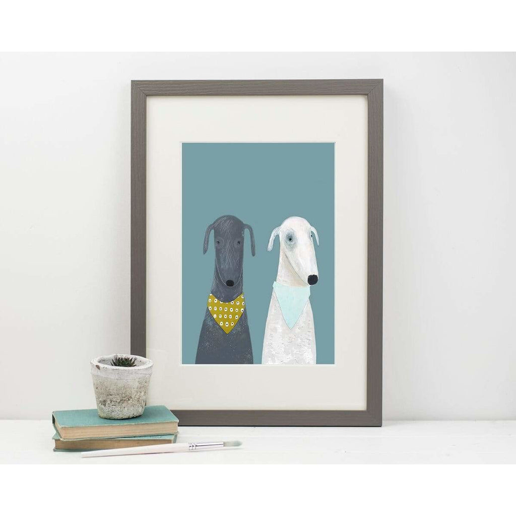 Print Circus Unframed Print A3 frame Dotty and Clive print