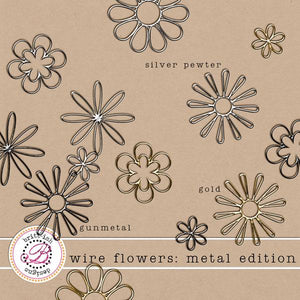 Wire Flowers: Metal Edition
