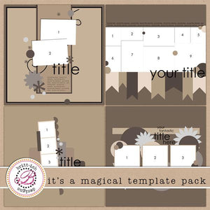 It's a Magical Template Pack