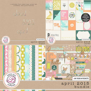 My Year In Pockets (April 2015): Bundle