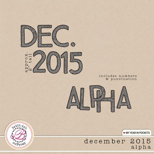 My Year In Pockets (December 2015): Alpha