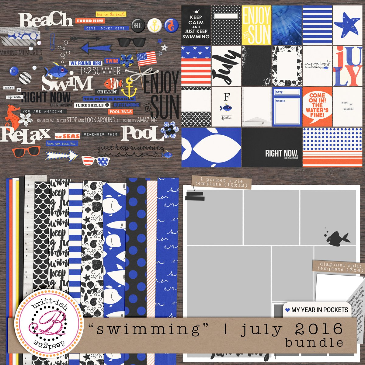 "My Year In Pockets: ""Swimming"" 