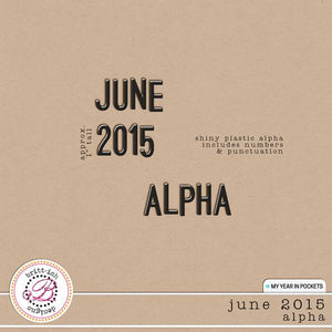 My Year In Pockets (June 2015): Alpha