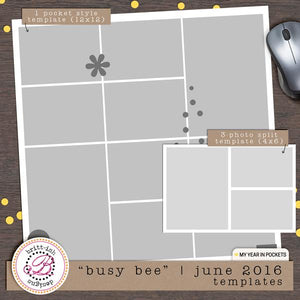 "My Year In Pockets: ""Busy Bee"" 