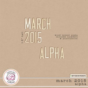 My Year In Pockets (March 2015): Alpha