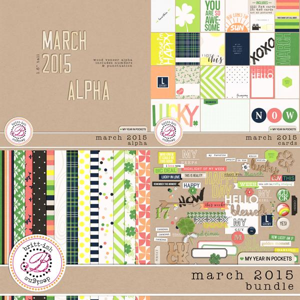 My Year In Pockets (March 2015): Bundle