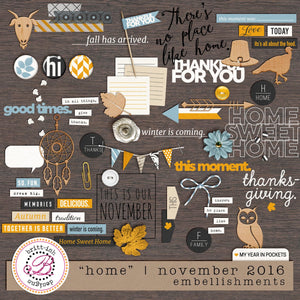"My Year In Pockets: ""Home"" 