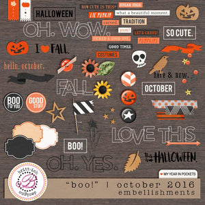"My Year In Pockets: ""Boo!"" 