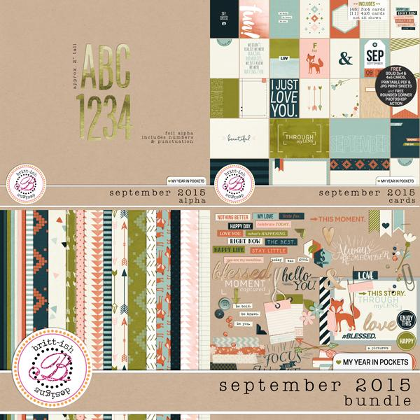 My Year In Pockets (September 2015): Bundle