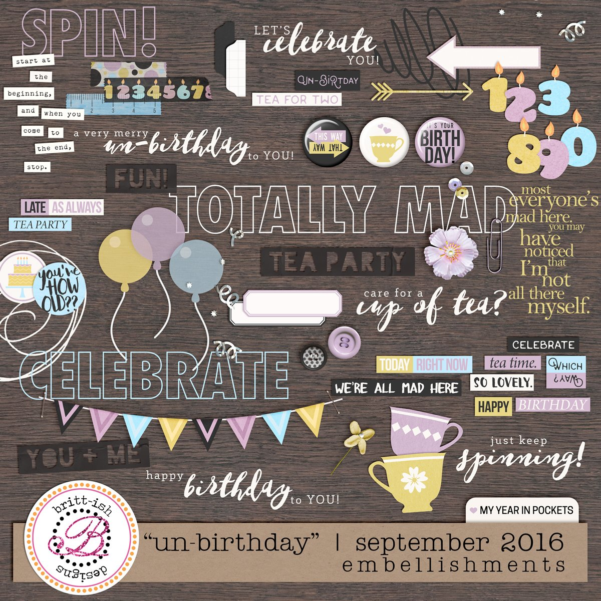 "My Year In Pockets: ""Un-Birthday"" 