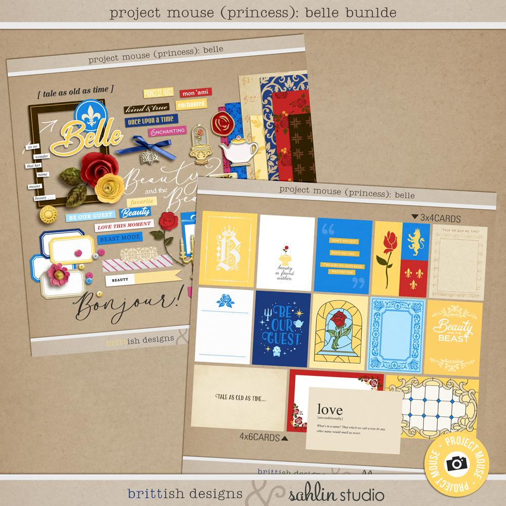 Project Mouse (Princess): Belle Bundle