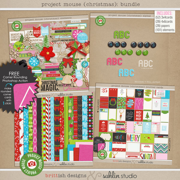 Project Mouse (Christmas): Bundle
