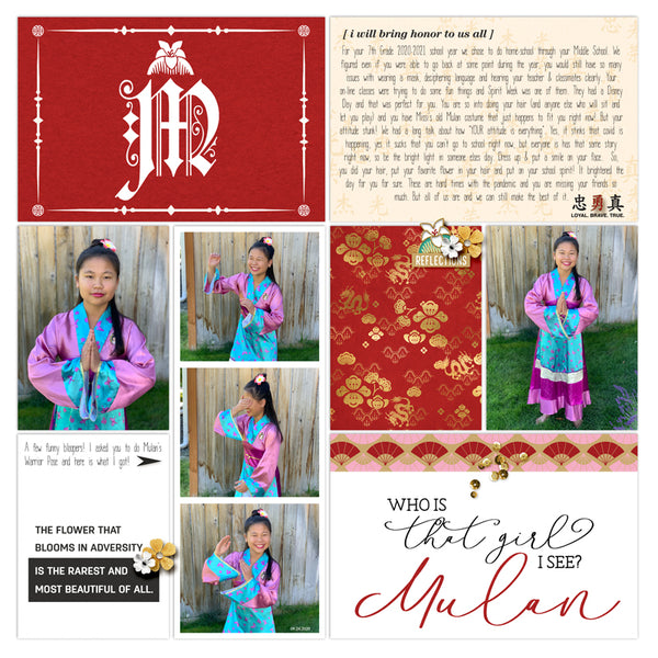 Project Mouse (Princess): Mulan Cards