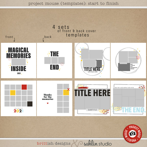 Project Mouse (Templates): Start to Finish