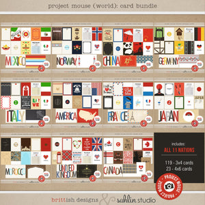 Project Mouse (World): Card Bundle