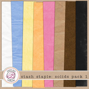 Stash Staple: Solids Pack 1