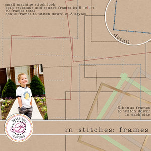 In Stitches: Frames