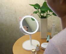 Load image into Gallery viewer, Kitty Lighted Makeup Mirror