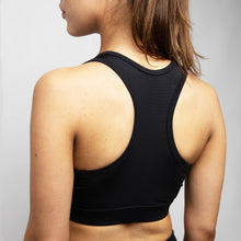Load image into Gallery viewer, Basic Elevated Sports Bra in Black