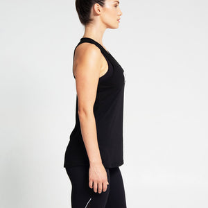 Singlet Low Cut in Black