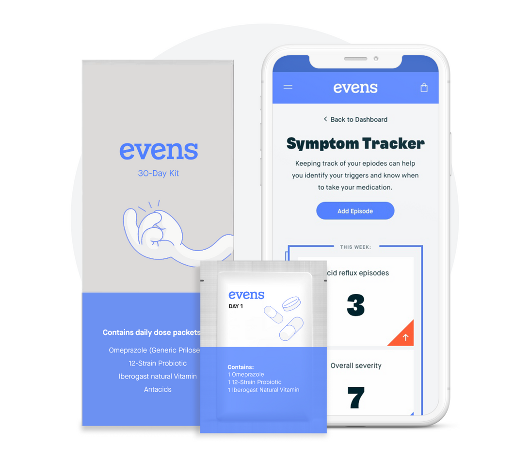 Evens: Personalized Frequent Heartburn Kit