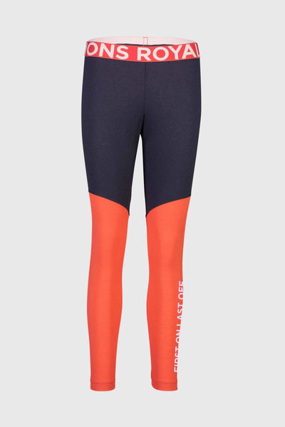 Christy Legging - 9 Iron / Poppy