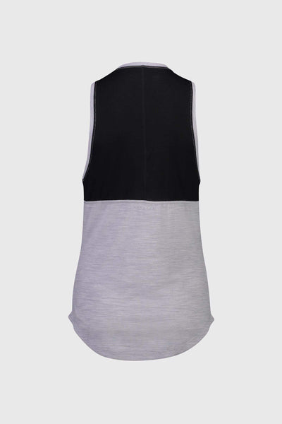 MTN X Tank - Black / Grey Marl