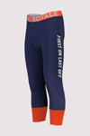 Shaun-off 3/4 Legging - Navy / Orange Smash