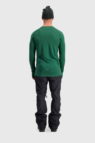 Temple Tech LS - Pine / Grey Marl