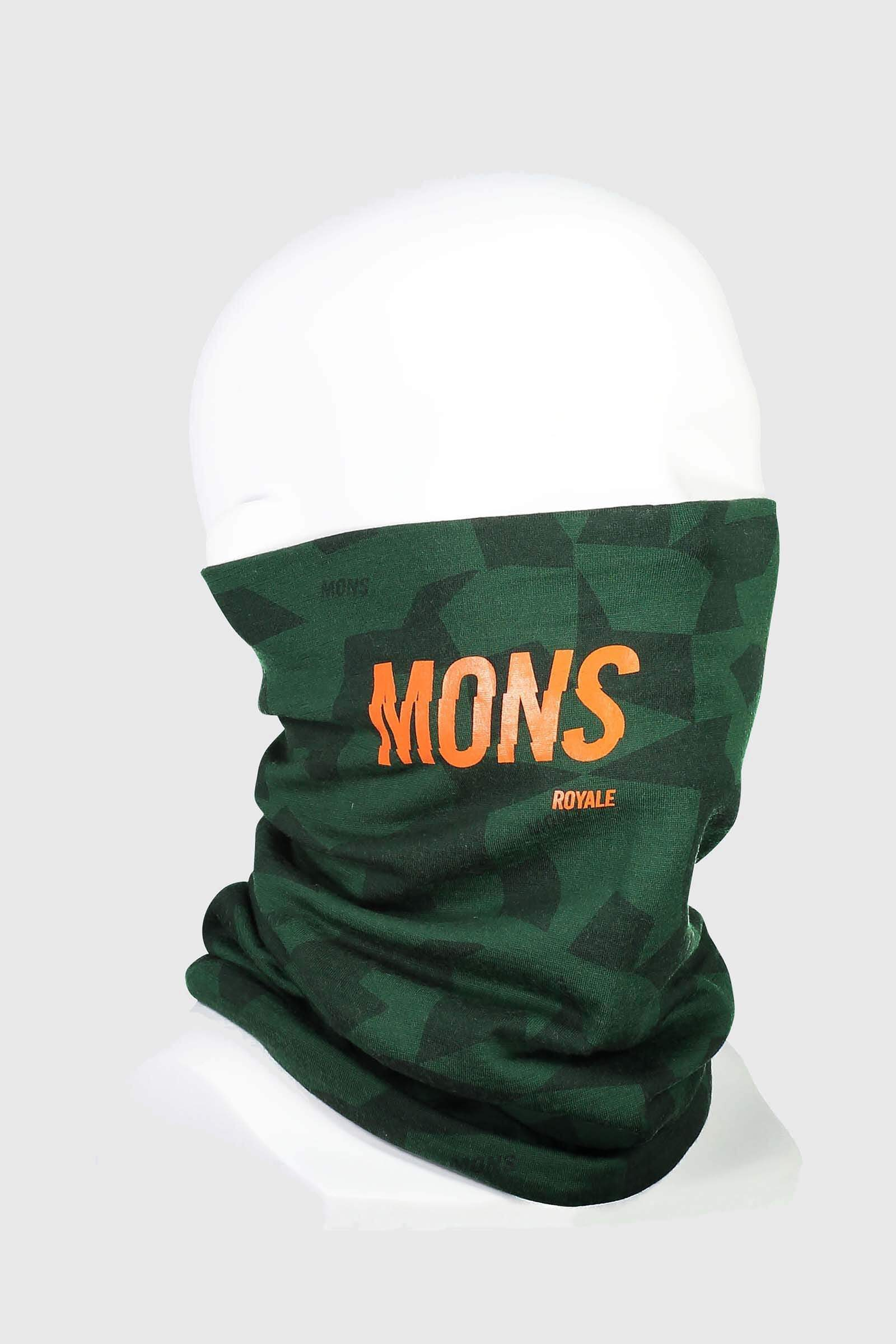 Double Up Neckwarmer - Pine Camo