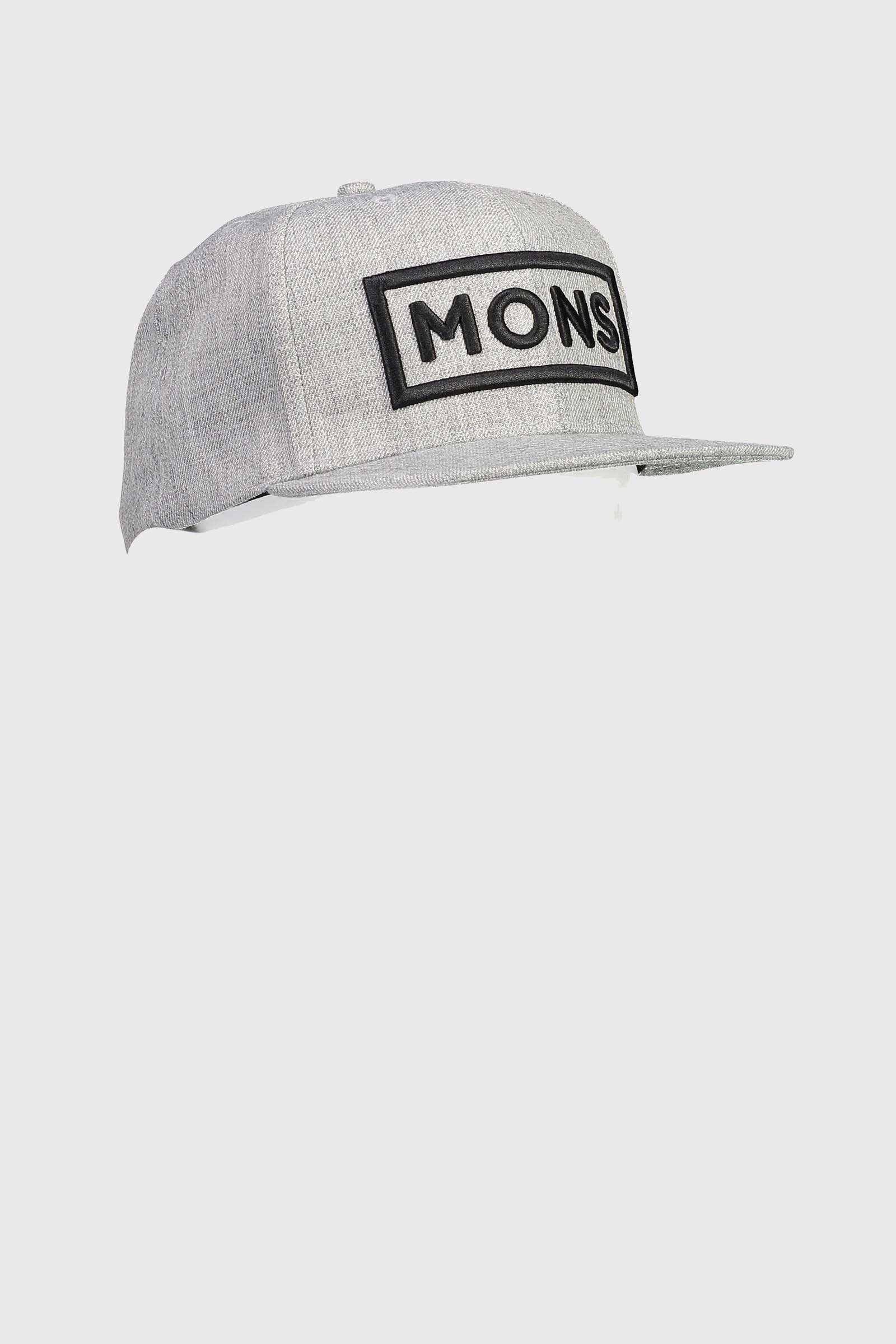 Wool Connor Cap - Grey Marl