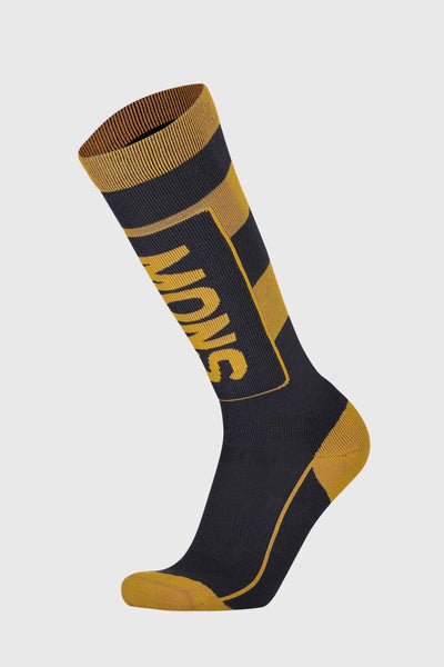 Mons Tech Cushion Sock - 9 Iron / Gold