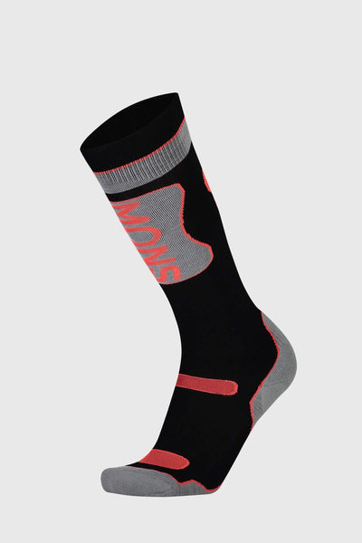 Pro Lite Tech Sock - Black / Neon