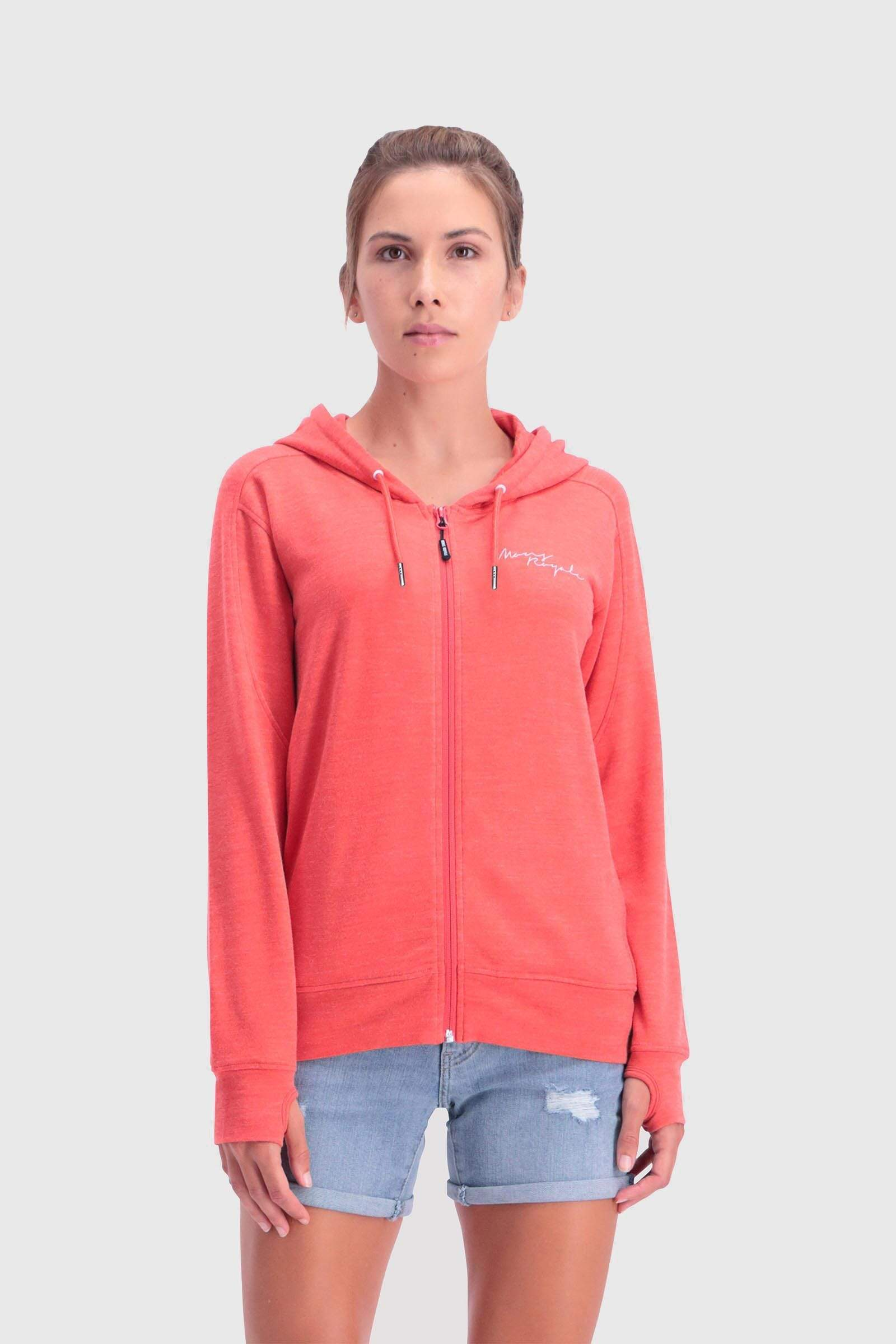 Covert Lite Zip Hoody - Poppy