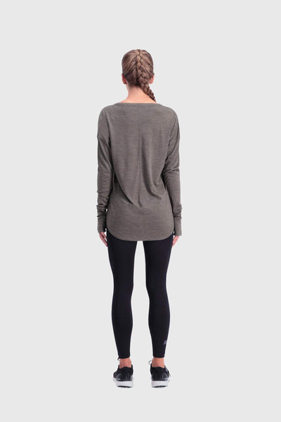 Estelle Relaxed LS - Olive
