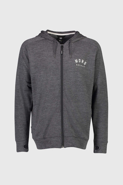 Covert Lite Zip Hoody - Smoke