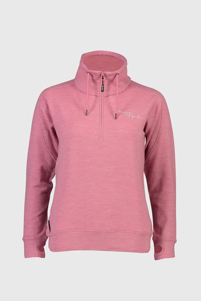 Covert Lite 1/2 Zip - Dusty Pink