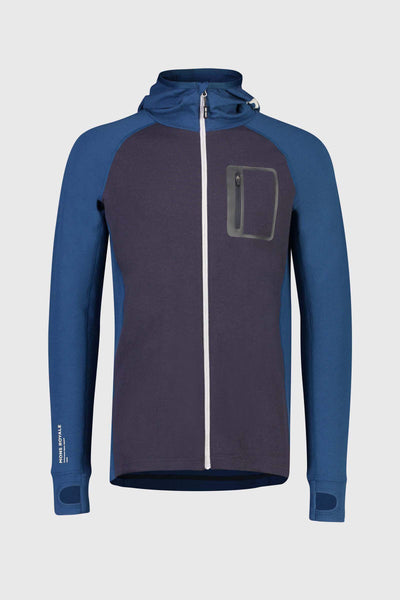 Traverse Midi Full Zip Hood - Atlantic / 9 Iron