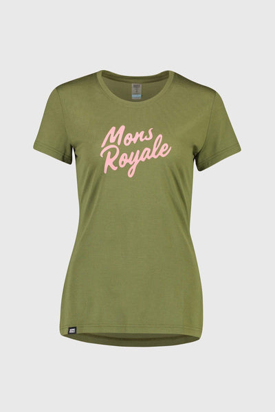 Icon Tee - Khaki Rose