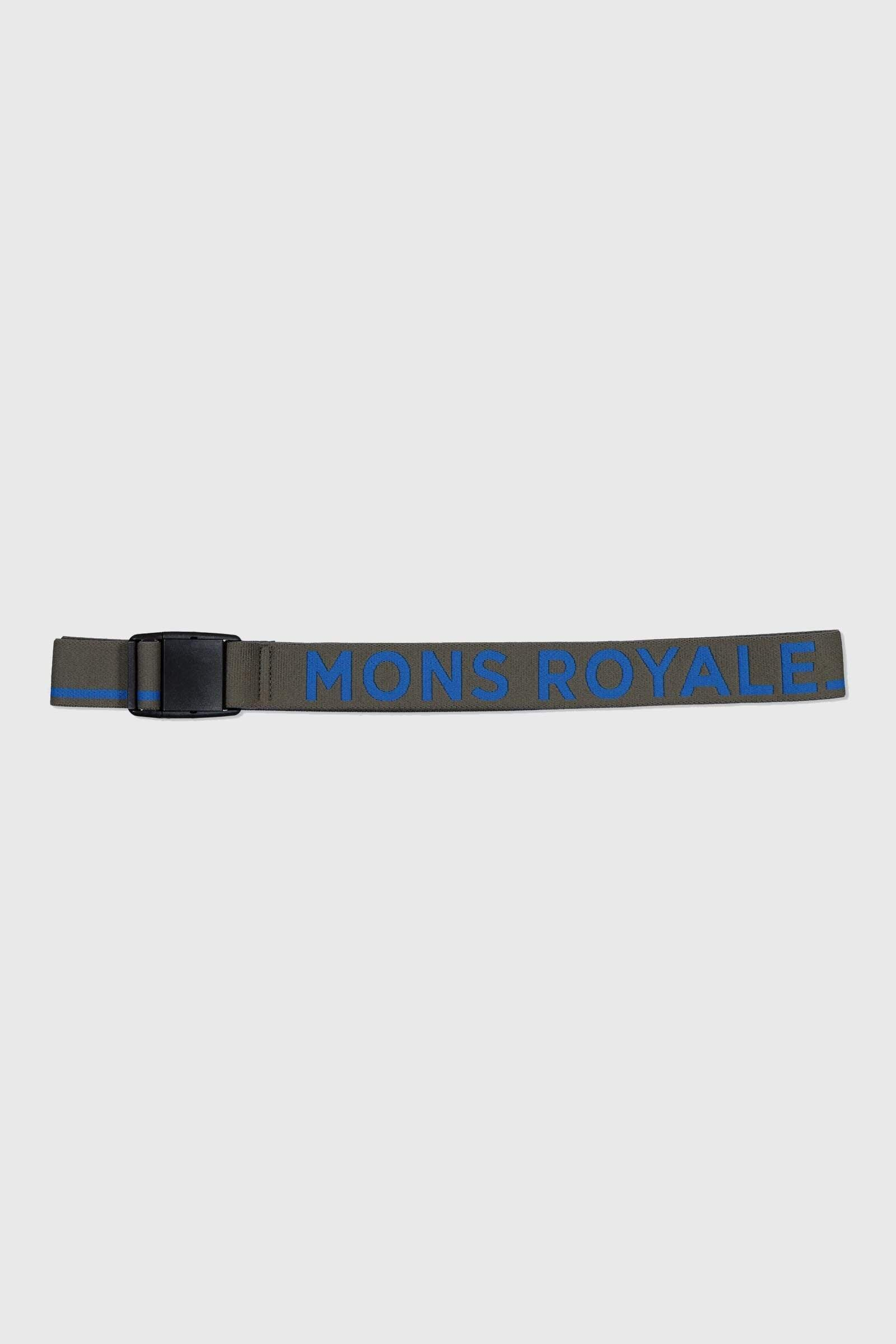 Mons Belt - Olive / Rebel Blue