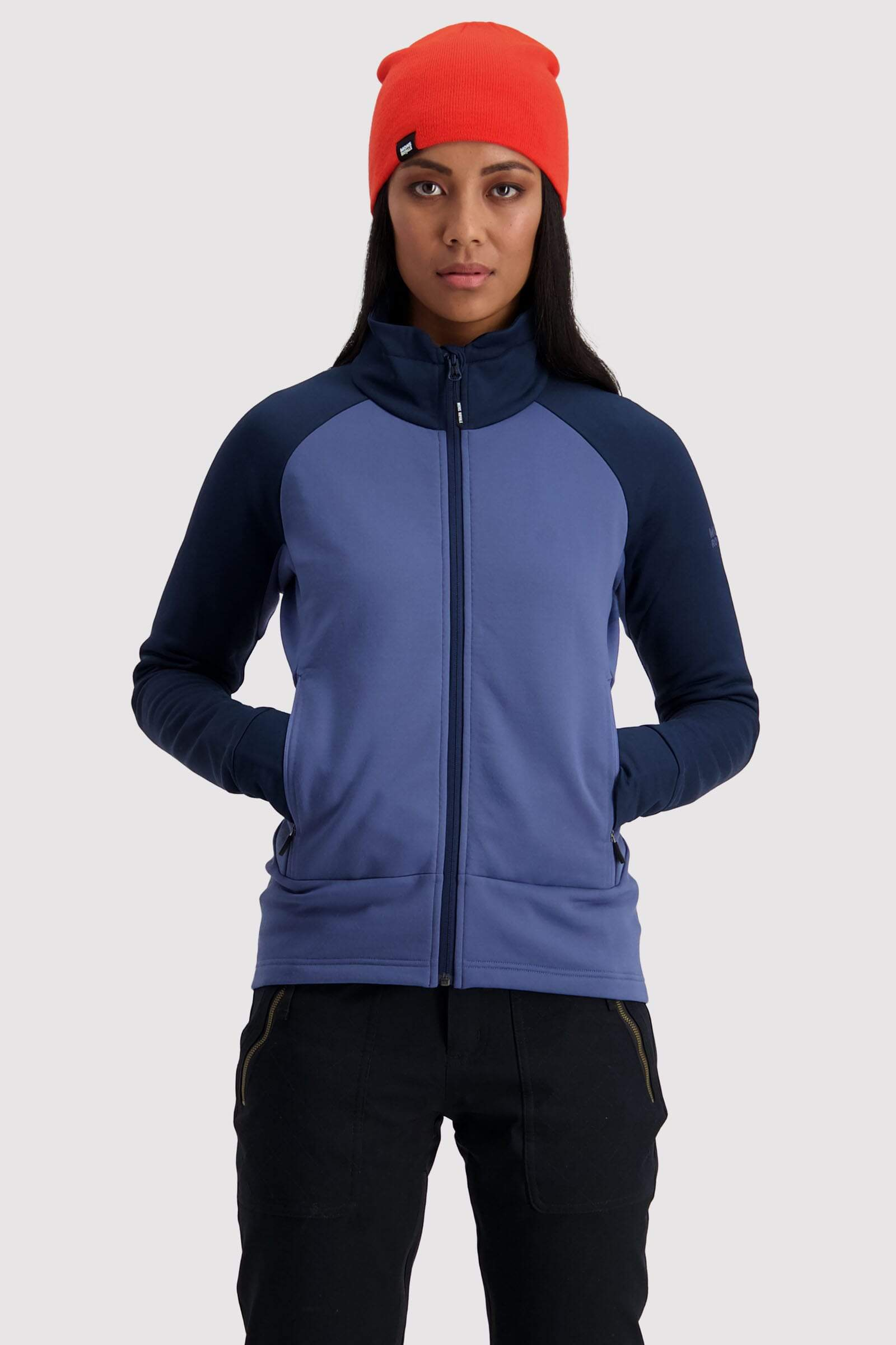 Nevis Wool Fleece Jacket - Blue Velvet