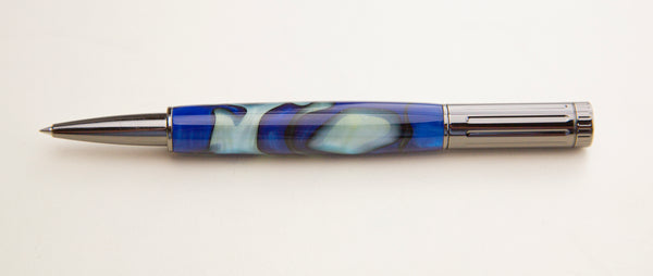 Artisan Athens Acrylic woodturned Pen