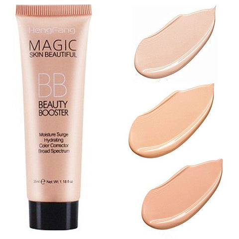 Face Base Foundation Full Cover Makeup BB Cream Waterproof Long Lasting Facial Concealer Brighten Whitening Cream Korean Makeup