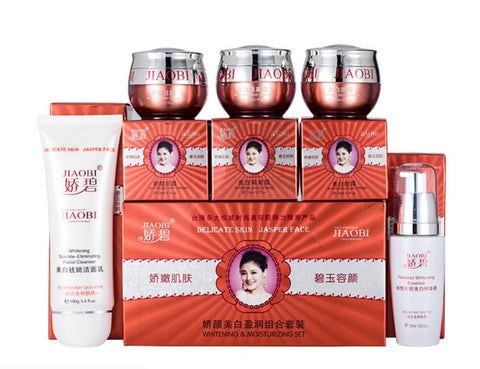 Original Chinese Brand JiaoBi Jiao Yan whitening Ying 4 in 1 skin care set wholesale