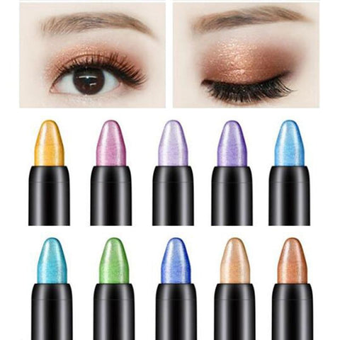 YMSMT Color 1pc Beauty Highlighter Eye Shadow Pen Cosmetic Flash Eye Shadow Rotating Eye Shadow Eyeliner 16 Color Optional