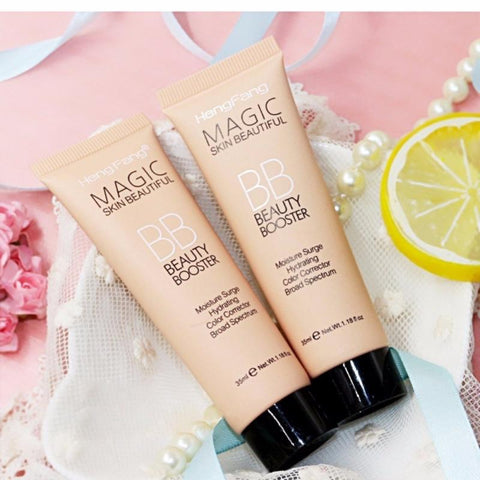Natural Brightening BB Cream Foundation Base Makeup Concealer Cream Whitening Moisturizing Primer Face Beauty Cosmetics TSLM1