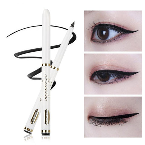 1Pc Cat Eyeliner Waterproof Smokey Eye Stencil Models Shaper Tool Eyeliner Pen Long-lasting Black Eye Liner Pencil Makeup Tools