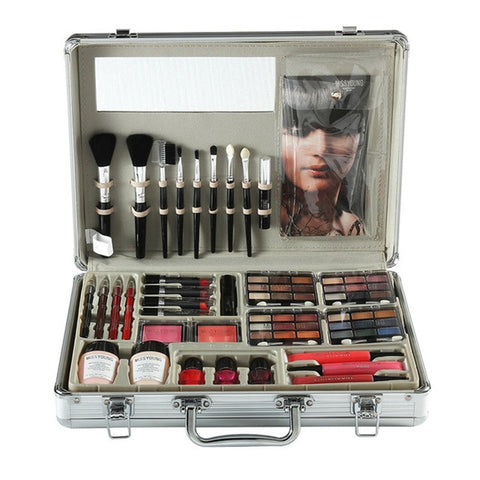 Makeup Tool Kit Including Matte Eyeshadow Lipstick Lip Gloss Foundation Brush Nail polish Makeup Set Cosmetic Kit Maquiagem
