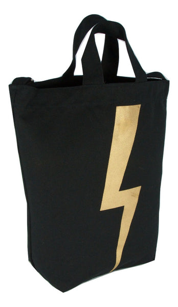 Latex and Canvas Tote - Ziggy Stardust