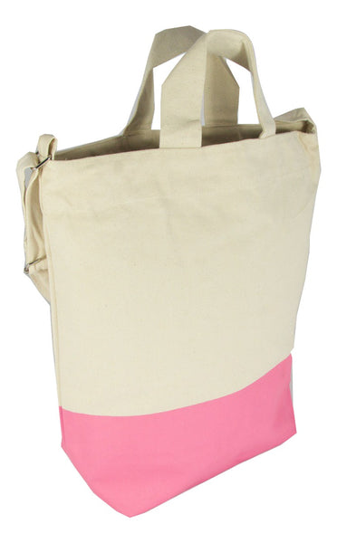 Latex Dip Canvas Tote - Pink Panther